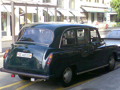 Carbodies Carbodies Austin FX4 Taxi